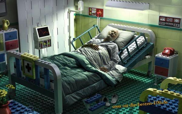 Die besten 100 Bilder in der Kategorie photoshops: Lego Krankenzimmer Photoshop Art