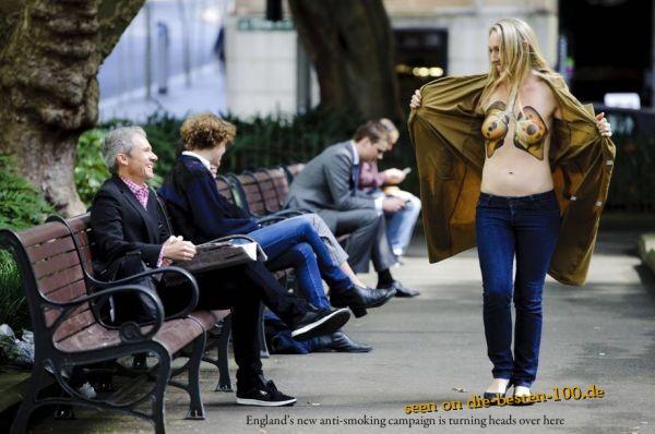 Bodypainting British Anti Cancer Campaign - Die Besten -7298
