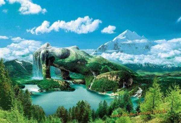 Die besten 100 Bilder in der Kategorie photoshops: Nature Woman Photoshop Art