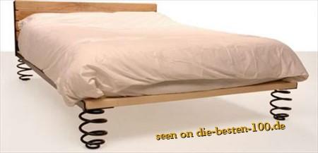 Die besten 100 Bilder in der Kategorie moebel: Für die Prinzessin auf der Erbse - Gefedertes Bett