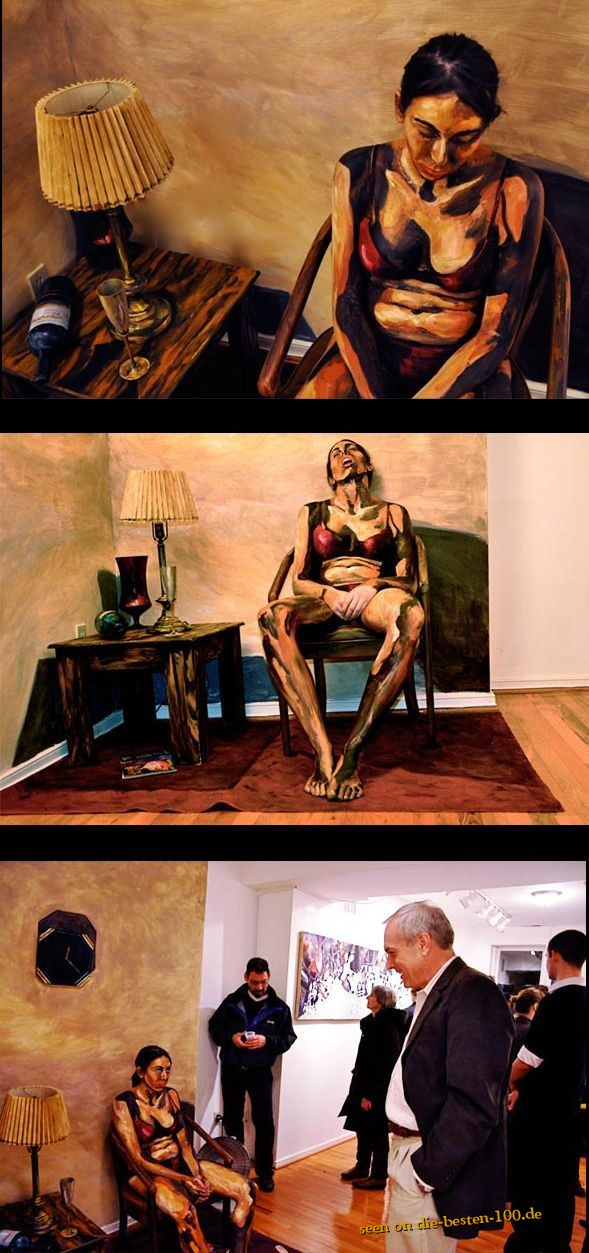 Die besten 100 Bilder in der Kategorie kunst: Surreale Malerei - Optische Täuschung Aquarell