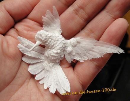 KUNST: Papier Vogel - Die besten 100 Bilder in vielen Kategorien
