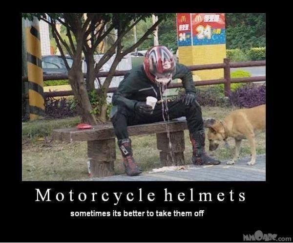 SCHLIMME_SACHEN: Ekel, Motorradfahrer, Helm, Kotzen - Die ... Down Syndrome Meme Funny