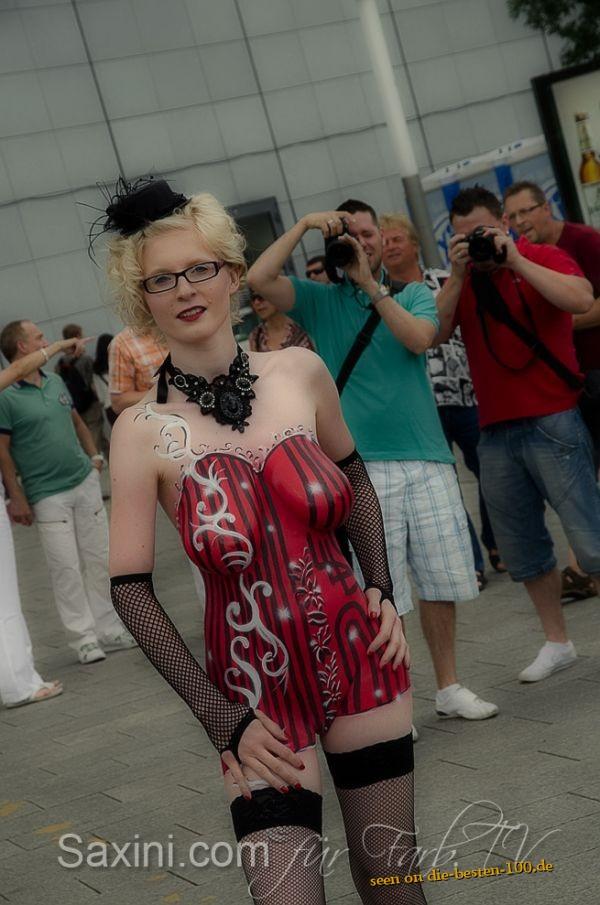 Die besten 100 Bilder in der Kategorie bodypainting: bodypainting, wgt 2012, wave gothik treffen