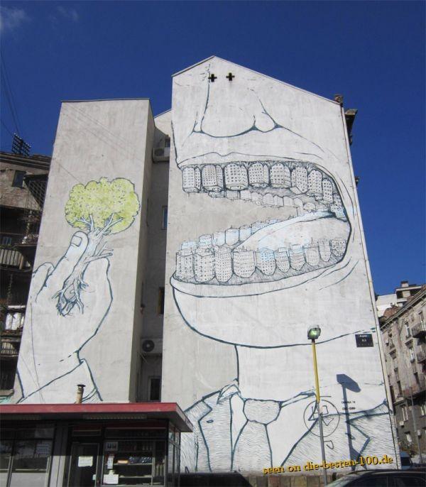 Die besten 100 Bilder in der Kategorie graffiti: Riesen Riesen Graffiti