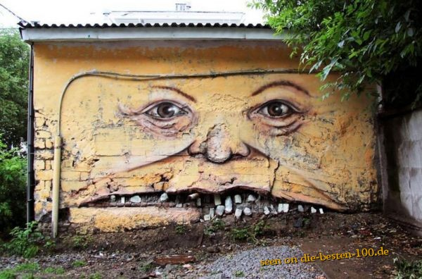 Die besten 100 Bilder in der Kategorie graffiti: Face Graffiti