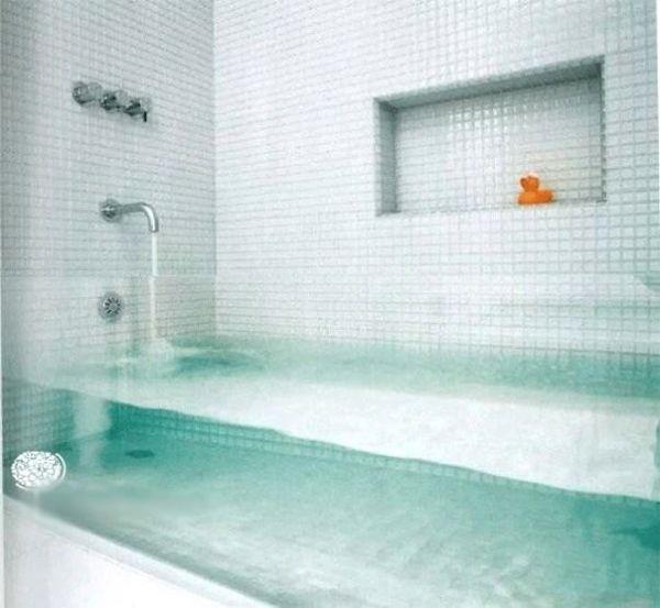 Die besten 100 Bilder in der Kategorie moebel: Badewanne aus Glas