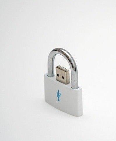 Die besten 100 Bilder in der Kategorie clever: USB-Stick-Schloss