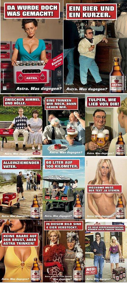 Die besten 100 Bilder in der Kategorie werbung: Astra Bier Werbung