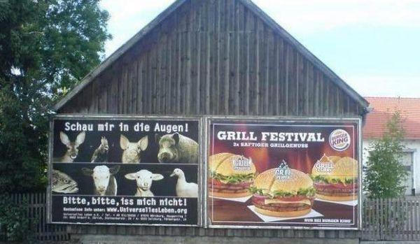 Die besten 100 Bilder in der Kategorie werbung: Fleisch-Werbung