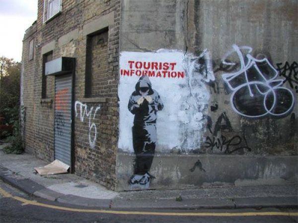Die besten 100 Bilder in der Kategorie graffiti: Tourist Information