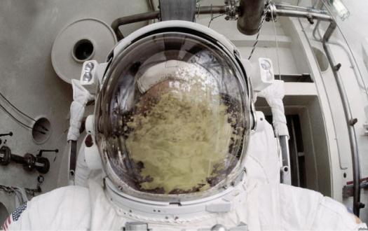 Die besten 100 Bilder in der Kategorie shit_happens: Die Sicht ist zum Kotzen - Astronauten-Essen