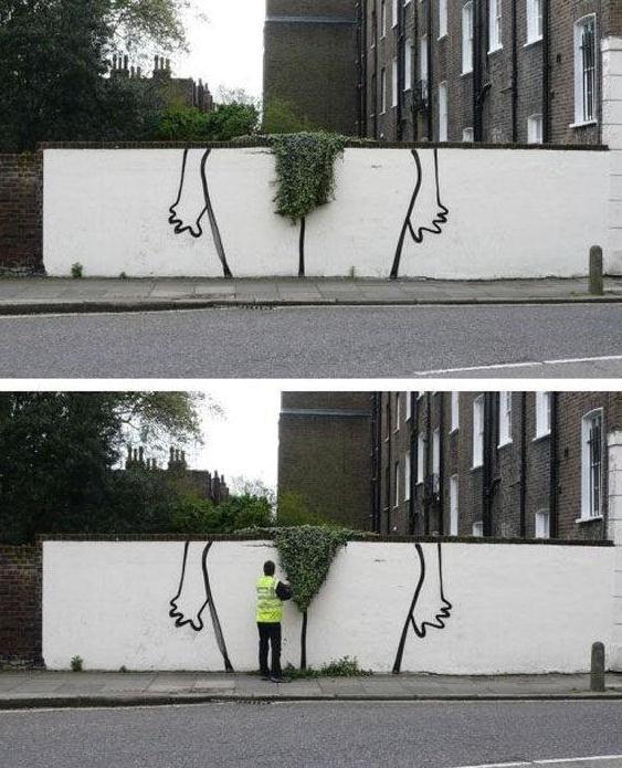 Die besten 100 Bilder in der Kategorie graffiti: Schambehaarung stutzen - Graffiti