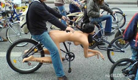 Fahrrad dildo