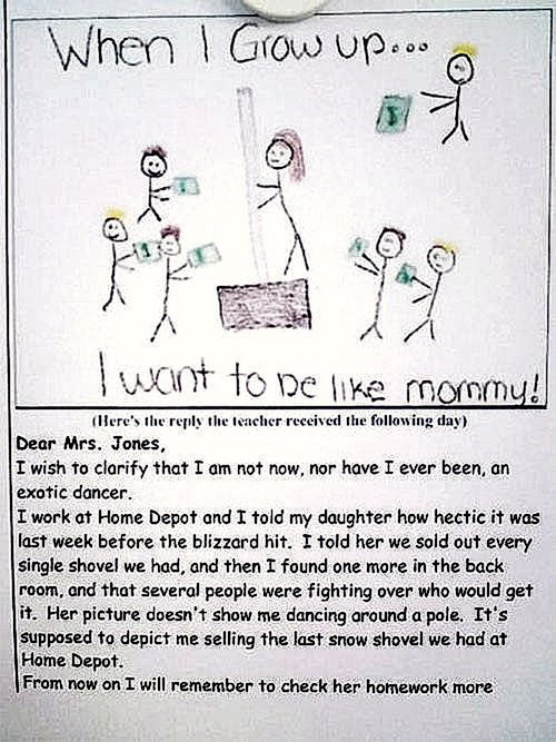 I Want To Be Like Mommy!