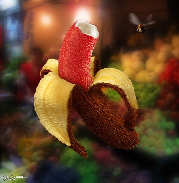 Die besten 100 Bilder in der Kategorie photoshops: Leckere Fruchtmischung - Mixed Fruit