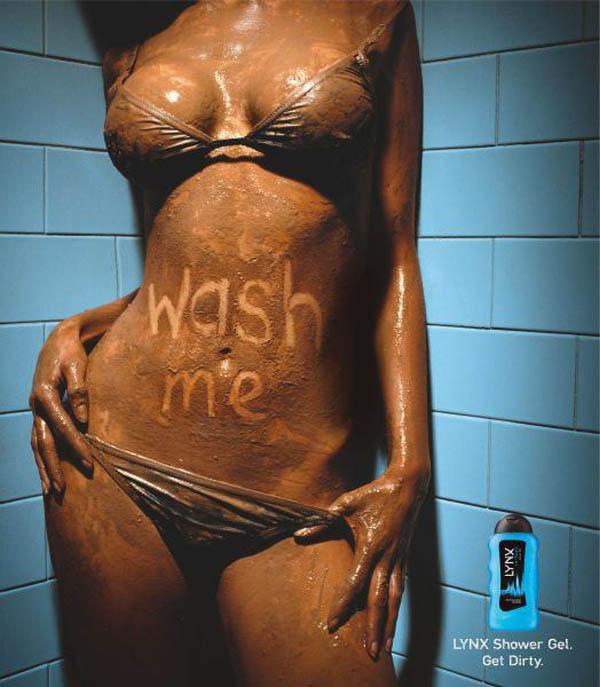 Die besten 100 Bilder in der Kategorie werbung: Get Dirty - Dusch Gel Werbung