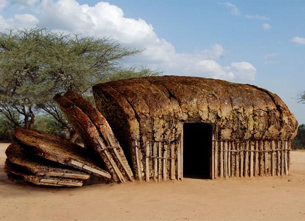 Die besten 100 Bilder in der Kategorie photoshops: Afrikanische Brot Hütte