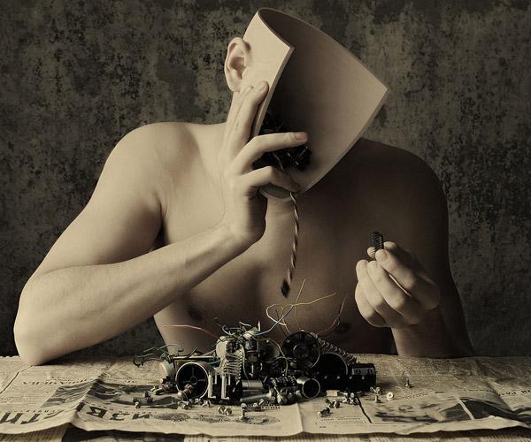 Die besten 100 Bilder in der Kategorie photoshops: Problem? Mechanisches Gehirn - Photoshopping