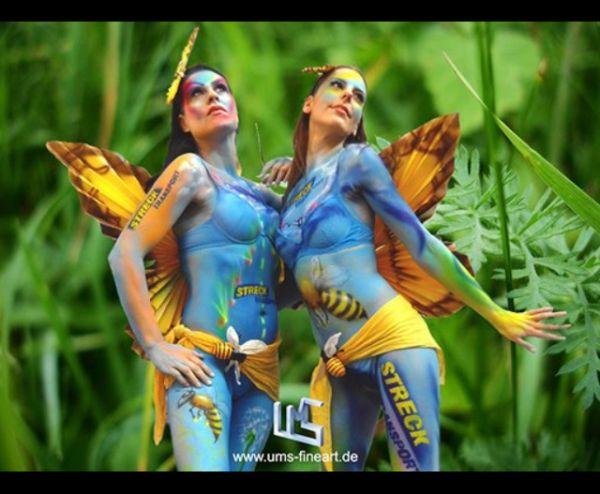Die besten 100 Bilder in der Kategorie bodypainting: Stuttgarter Bodypainting