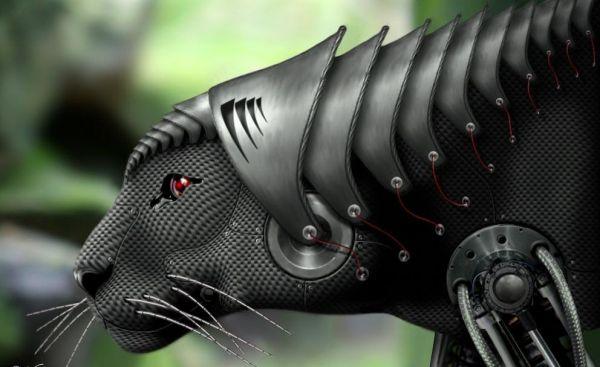 Die besten 100 Bilder in der Kategorie photoshops: Iron Panther