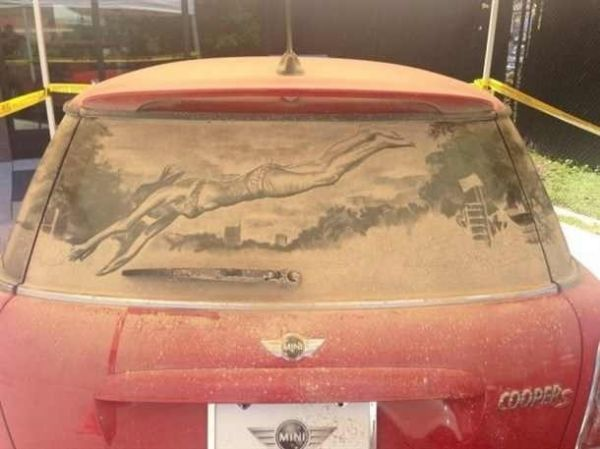 Die besten 100 Bilder in der Kategorie kunst: Dirty Car Drawing Art