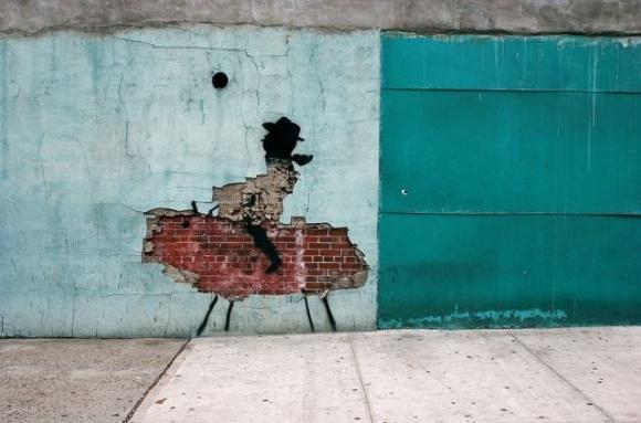 Die besten 100 Bilder in der Kategorie graffiti: Lustiges Cowboy Grafitti