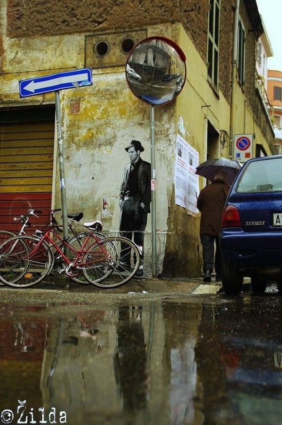 Die besten 100 Bilder in der Kategorie graffiti: Schwarz-Weiss 60er Jahre Grafitti