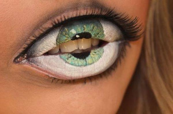 Die besten 100 Bilder in der Kategorie bodypainting: Augen auf Mund Bodypainting