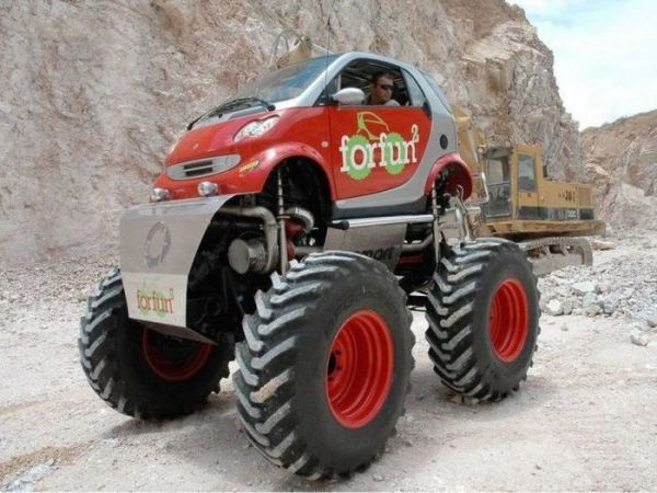 Smart for fun 2 Monster Truck