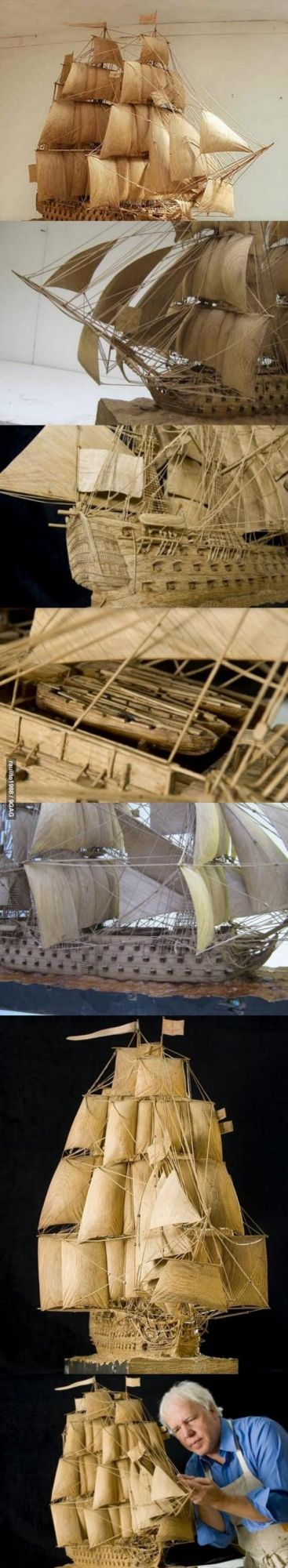 Wooden Ship - 10 Years Building Time
