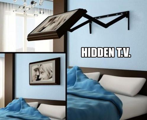 Die besten 100 Bilder in der Kategorie clever: Versteckter Flat TV Wandhalterung