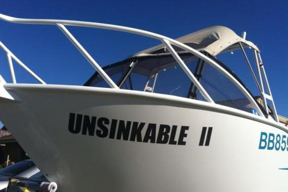 Funny Ship Name - Unsinkable II