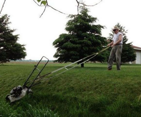 Die besten 100 Bilder in der Kategorie clever: Rasenmäher Verlängerung für steile Schrägen