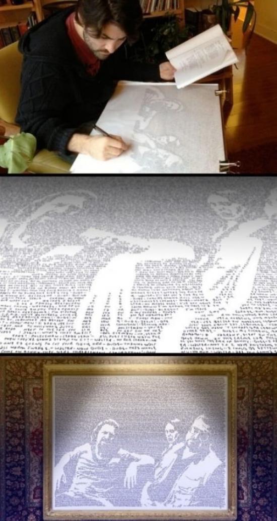 Die besten 100 Bilder in der Kategorie kunst: The Big Lebowsky Bild nur mit Text