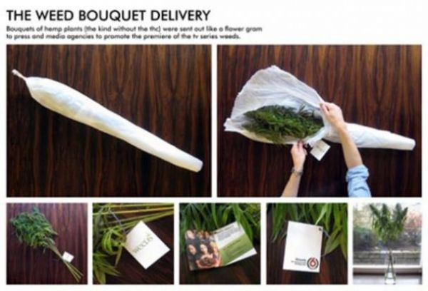The Weed Bouquet Delivery - Weed, Joint, Present