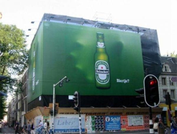 Die besten 100 Bilder in der Kategorie werbung: Gute Bierwerbung - Klasse Werbungs Idee
