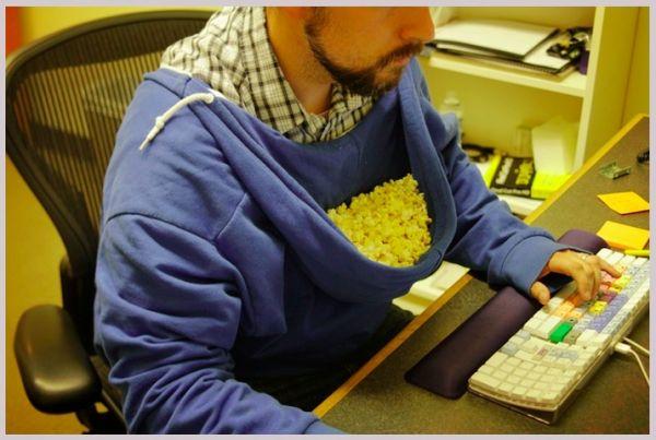 Die besten 100 Bilder in der Kategorie clever: Popcorn Kapuze