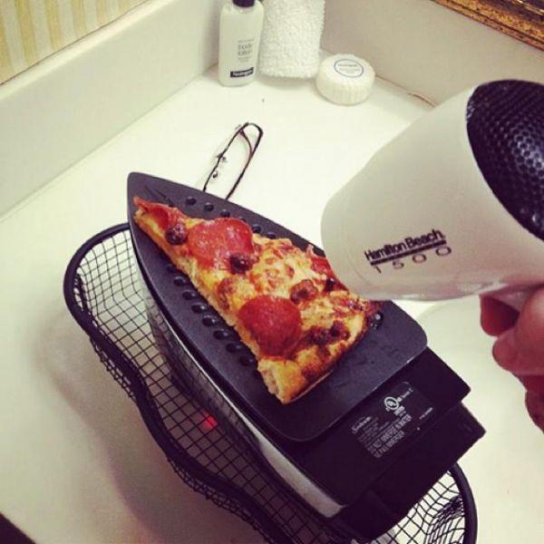 Die besten 100 Bilder in der Kategorie clever: Pizza Bügeleisen