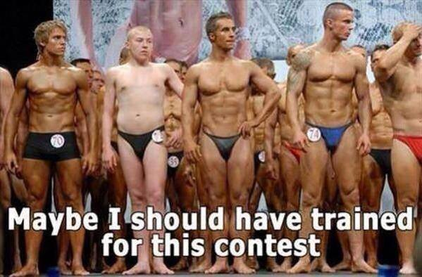 Bodybuilding fail