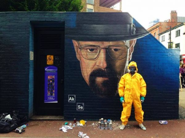 Die besten 100 Bilder in der Kategorie graffiti: Heisenberg Breaking Bad