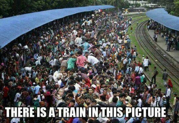 TRANSPORT Zug Menschen Transport Indien Die Besten