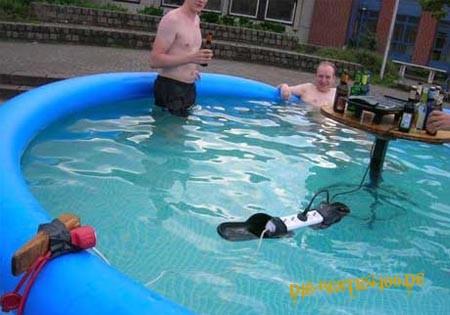 Steckdose, pool