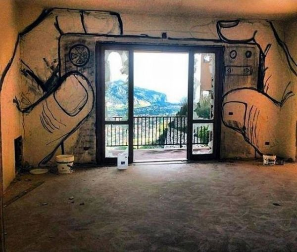 Die besten 100 Bilder in der Kategorie graffiti: Indoor Photo-Display Graffiti