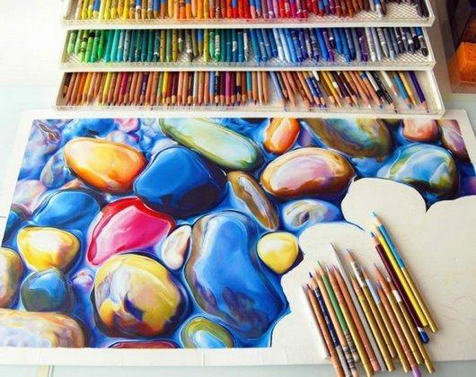 Die besten 100 Bilder in der Kategorie kunst: Photorealistische, Buntstift, Malerei