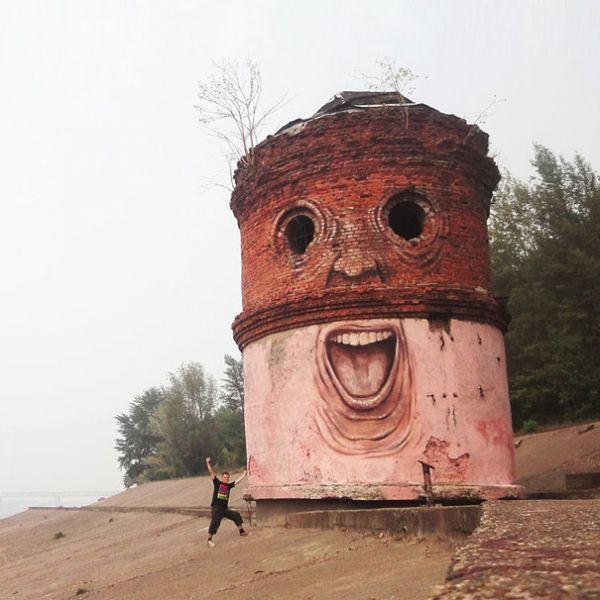 Die besten 100 Bilder in der Kategorie graffiti: Yeah, Gute, Graffiti, Idee, Turm, Gesicht
