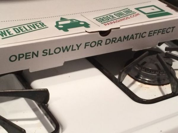 Pizza, Box, dramatic, Effect, funny