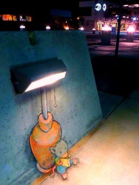 Die besten 100 Bilder in der Kategorie graffiti: Leselampe, Maus, Kreative, Graffiti, Straßenmalerei