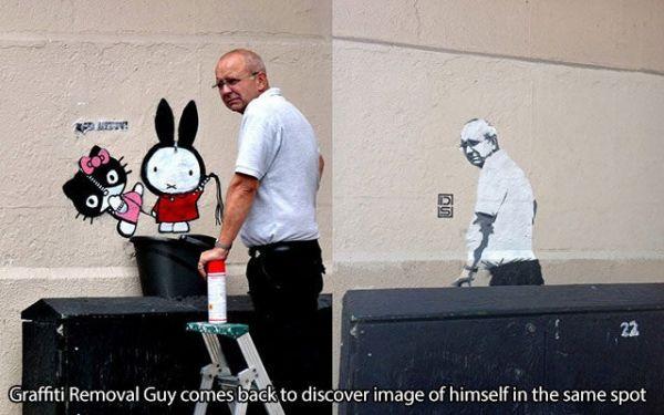 Die besten 100 Bilder in der Kategorie graffiti: Graffiti, Putzen, entfernen, Spass, Kunst