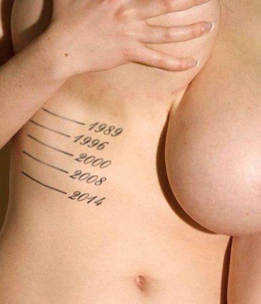 Lustige tattoos intim